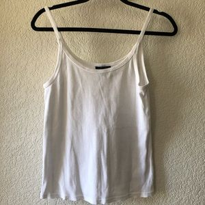 Topshop Tops - Topshop White Tank Top